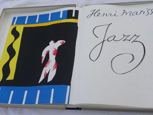HENRI MATISSE Jazz special edition book Museum of Modern Art 1983