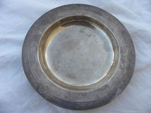 CHRISTOFLE French silver plated vintage dish