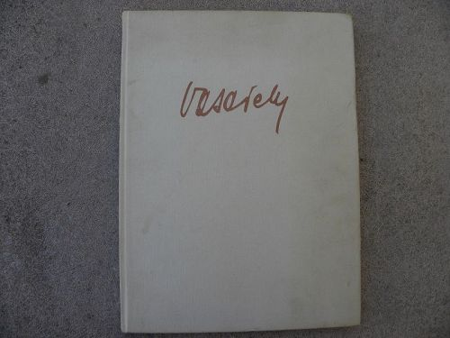 VICTOR VASARELY hard cover book 1976 on the Op-Art modern artist