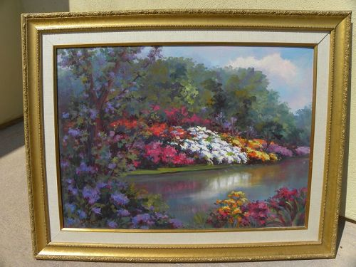 KASANDRA MARTELL (1925-2019) impressionist painting California art