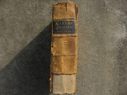 "MARK TWAIN rare first edition book ""A Tramp Abroad"" 1880"