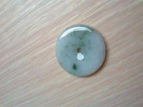 29 mm Natural Mined Jadeite A Jade Pendant
