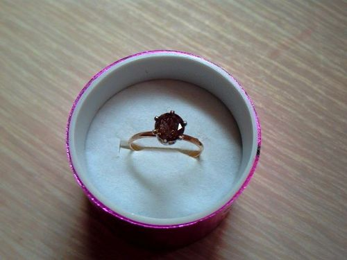 Fancy Brown Diamond 1.50 carat Solitaire, Ring