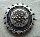 Fine All Hallmarks British Brooch Decorative Silver