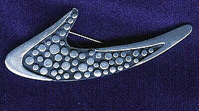 Fantastic Sigi Boomerang Pin c. 1955