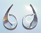 Tone Vigeland Sterling Modernist Earrings NORWAY