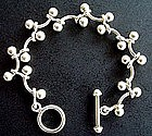 Silpada Sterling Silver Toggle Bracelet Contemporary