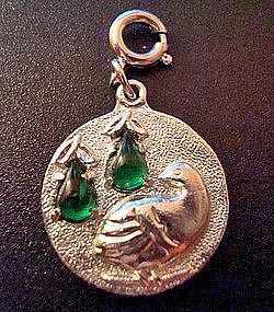 Partridge in a Pear Tree Limited Edition Charm