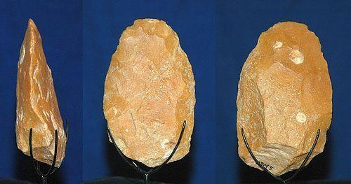 Neanderthal hand axe