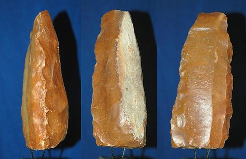 Neolithic stone blade core
