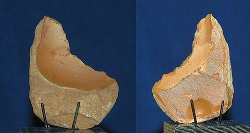 Neanderthal concave scraper