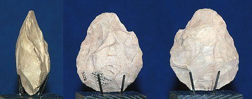 Neanderthal biface hand axe
