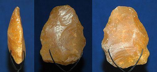 Neanderthal partial biface handaxe