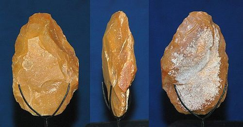 "Neanderthal biface hand axe ""A gibbosite"""