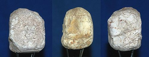 Neolithic core hammer stone