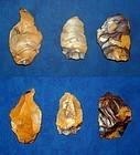 3 Neanderthal flake tools