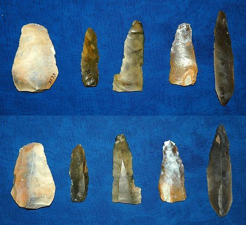 5 German Neolithic Blades