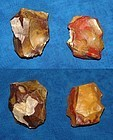 2 Neanderthal jasper cores