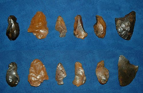 6 Paleolithic Native American tools