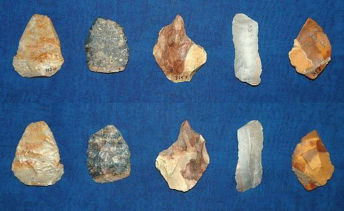 5 Native American Paleolithic tools