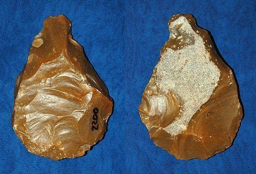Neanderthal Sub-triangular biface axe