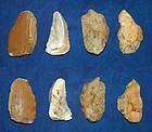 4 Neanderthal backed blades