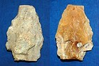 Lower to Middle Paleolithic Acheulean axe