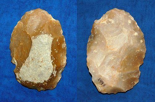 "Neanderthal biface axe ""Limande"""