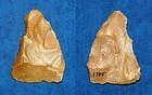 Neanderthal biface scraper