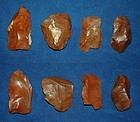 4 Native American Paleolithic tools or cores