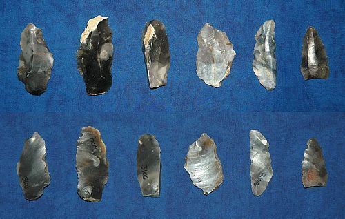 6 English Neolithic micro-tools