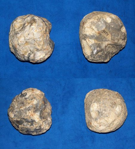 2 Neolithic/mid Bronze Age hammer stones