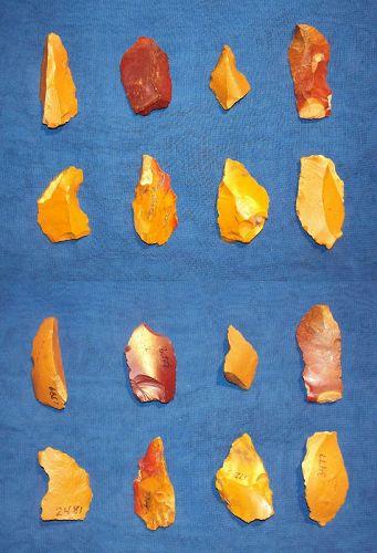8 Neanderthal Micro-tools.