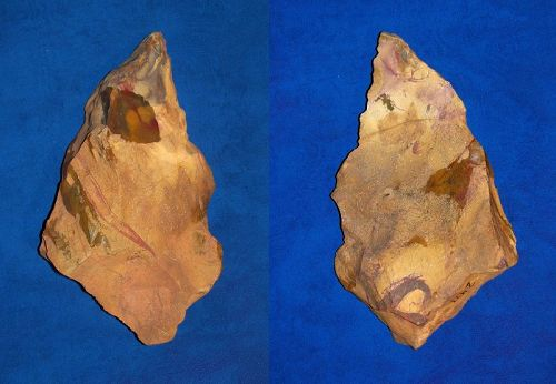 Large Middle or Upper Paleolithic burin