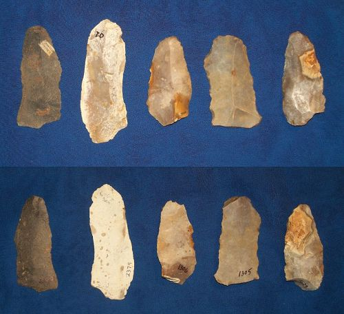 5 Neolithic tool from the Paris Basin Region