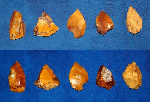 5 Neanderthal Burins