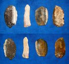 4 North American Paleolithic Blades