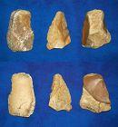 Three Neanderthal Flake Tools