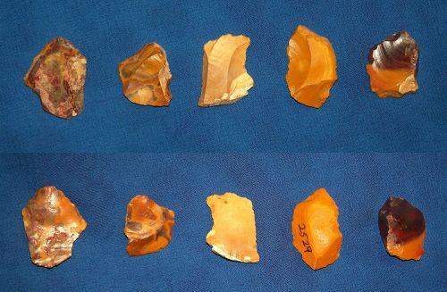 Five Neanderthal Micor Tools