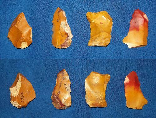 Four Neanderthal Multi-tools