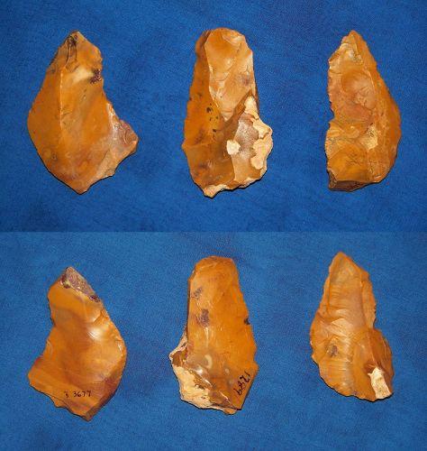 Three Neanderthal Blades