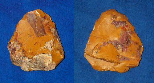 Neanderthal Sub-triangular Partial Biface Axe