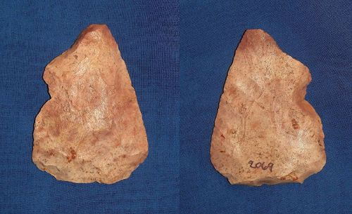 North American Paleolithic Notched Biface