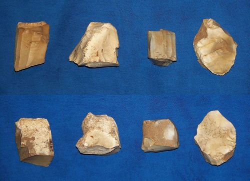 Four Neolithic Linear Pottery Culture Cores