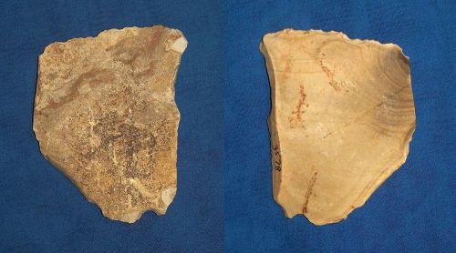 Neanderthal Hatchet on a Flake