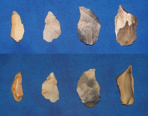 4 Neolithic Micro Burins from the Linear Pottery Culture