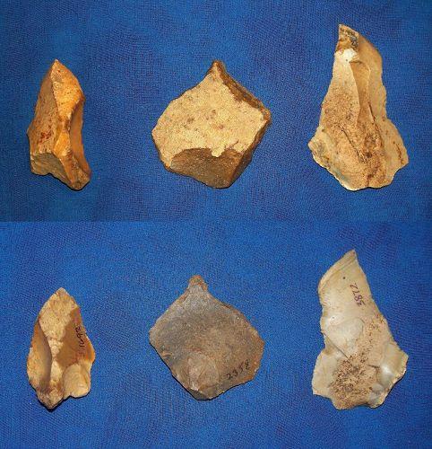 3 Neanderthal Burins