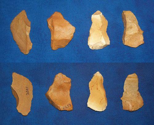 4 Neanderthal Burins