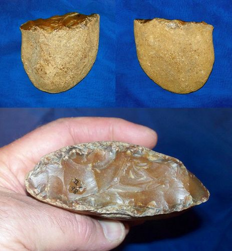 Lower Paleolithic Pebble Tool