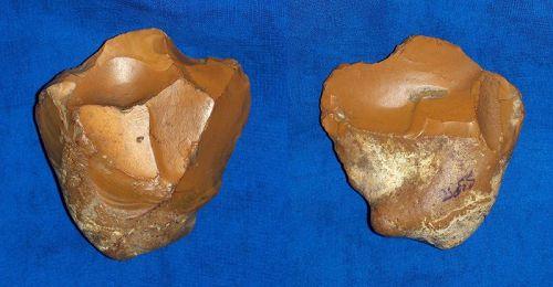Lower Paleolithic Mode 1 Pebble Chopper